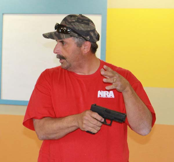 Brian Holder teaches Northern Colorado CCW classes